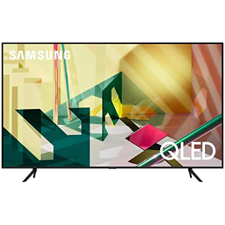 SAMSUNG 55-inch Class QLED Q70T Series - 4K UHD Dual LED Quantum HDR Smart TV with Alexa Built-in (QN55Q70TAFXZA, 2020 Model)