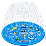 TOHIBEE Sprinkle & Splash Play Mat 68' Sprinkler for Kids Outdoor...