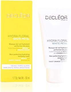 Decleor Hydra Floral White Petal Skin Perfecting Hydrating Sleeping Mask 50 ml, 50 ml