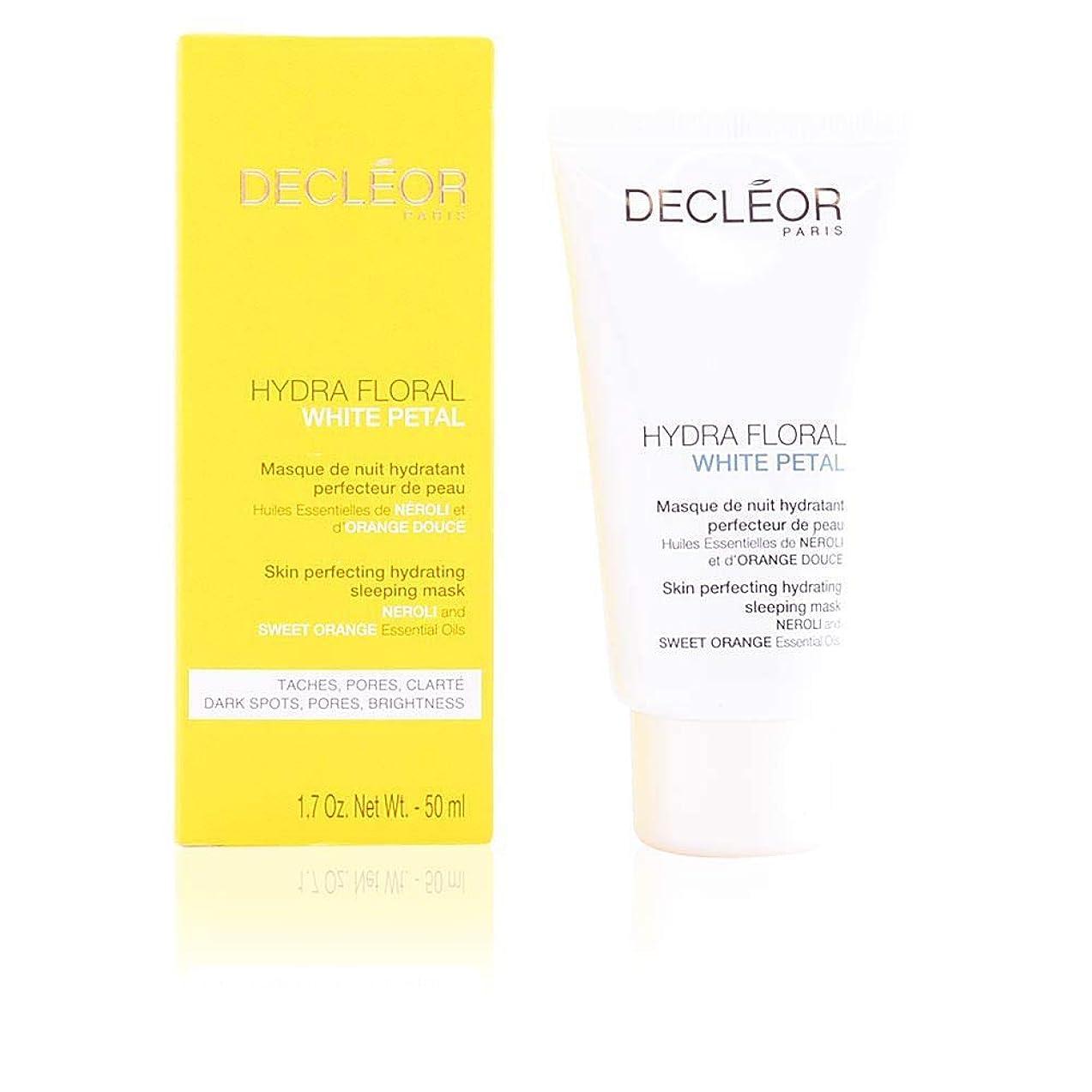 火炎今手荷物デクレオール Hydra Floral White Petal Neroli & Sweet Orange Skin Perfecting Hydrating Sleeping Mask 50ml/1.7oz並行輸入品