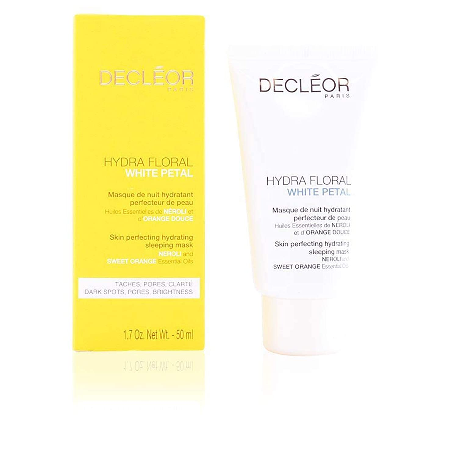崇拝する精査肌寒いデクレオール Hydra Floral White Petal Neroli & Sweet Orange Skin Perfecting Hydrating Sleeping Mask 50ml/1.7oz並行輸入品