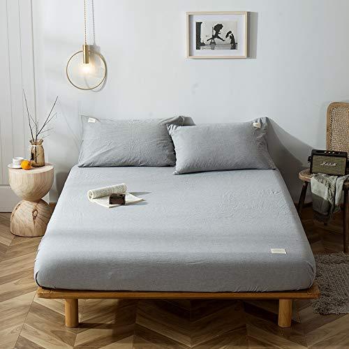Xiaomizi La sábana es suave y cómoda. Lavable a máquina y transpirable180X200+40cm