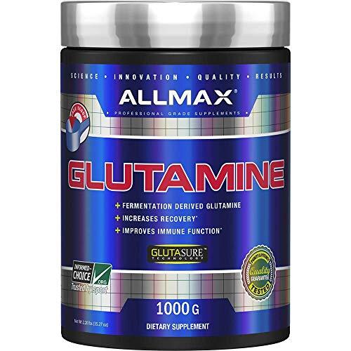 ALLMAX Nutrition Glutamine, 2.20 lbs (1,000 g)