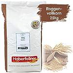 Roggenvollkornmehl 25kg von Haberfellner