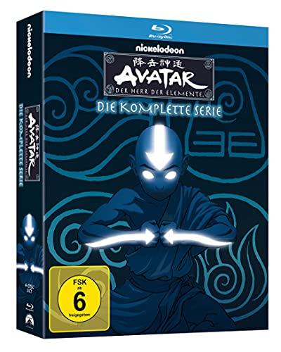 Avatar - Der Herr der Elemente: Die komplette Serie [Blu-ray]