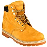EVER BOOTS 'Tank Men's Soft Toe Oil Full Grain Leather Work Boots Construction Rubber Sole