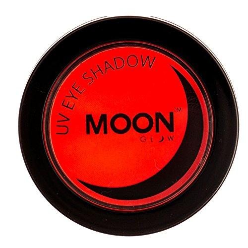 Moon Glow - UV Neon-UV-Lidschatten 3.5g Rot – ein spektakulär glühender Effekt bei UV- und...
