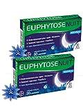 Euphytose Nuit - ENDORMISSEMENT PLUS RAPIDE & SOMMEIL REPARATEUR - Lot de 2 Boites de 30 Comprimés
