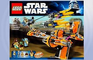 Lego Star Wars 7962Anakin Skywalker & Sebu lbas podracers