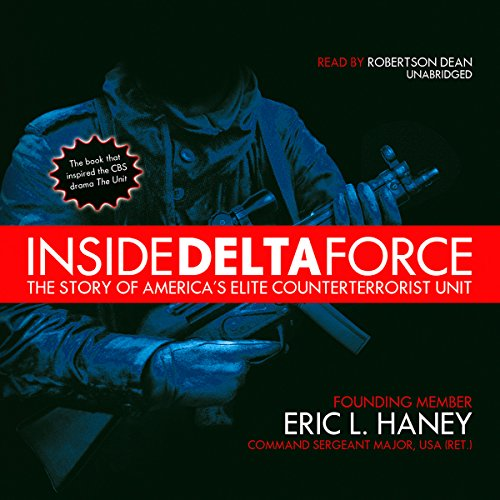 Inside Delta Force audiobook cover art