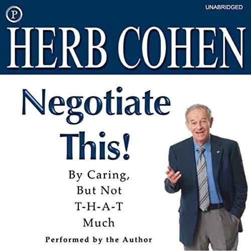 Negotiate This! audiobook cover art