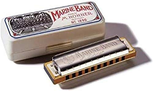 Hohner Accordions Marine Band Harmonica, Key Of C, 10