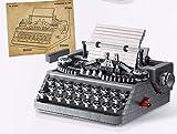 Maquina de escritura manual clásica, 1503 piezas, vintage, mecánica, bloques de construcción, bloques de construcción DIY MOC, modelo coleccionable, juguete de construcción compatible con Lego