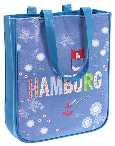Wendekreis Berlin 41102442 - Shopper HAMBURG süße Einkaufs-Tasche, ca. 31x36x9cm