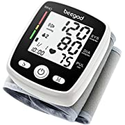 Blood Pressure Monitor,BP Monitor Irregular Heart Beat Detection Cuff Automatic with Large Display Screen Support Charging Supply for Home Use