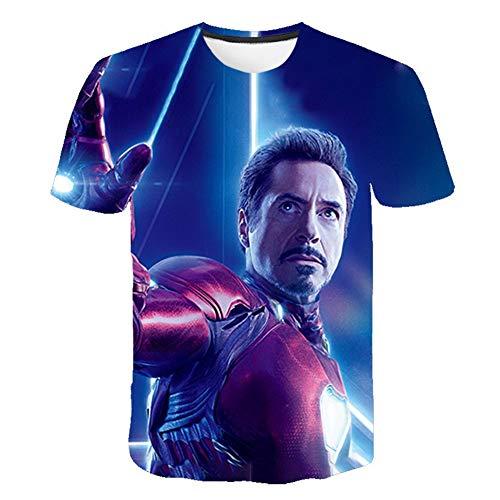 Towel Rings Camiseta Unisex Impresión De Vengadores Endgame para Fanes De Película Avengers