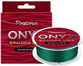 Piscifun Onyx Braided Fishing Line Advanced Superline Braid Lines 150Yd 20lb Green