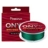 Piscifun Onyx Braided Fishing Line Advanced Superline Braid Lines 150Yd 8lb Green