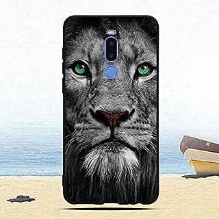 جرابات CRISTY-Fitted - جراب لجهاز Meizu Note 8 ملون وناعم من مادة TPU من السيليكون - جرابات واقية خلفية للهاتف - fundas co...