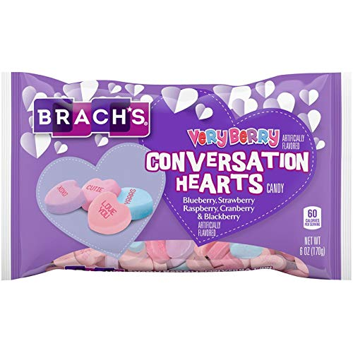 Brach's Very Ranking TOP6 Berry Conversation Hearts Pack 2 of Bag 6-oz. Sales SALE items from new works -