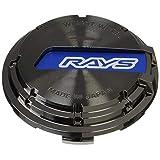 【RAYS(レイズ)】 センターキャップセット グラムライツ ブルー/ブラッククローム 4個セット GRCAP-BLCR4
