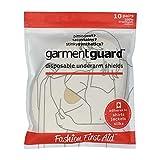 Garment Guard: The Original Disposable Adhesive COTTON Underarm Sweat Pads, Unisex to Prevent Armpit Stain (10 pairs, Beige)