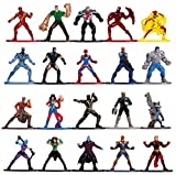 Jada Toys 253225010 Wave 3 Marvel Lot de 20 Figurines Nano Vague 3 Multicolore 4 cm