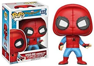 Funko - Spider-Man (Homemade Suit) figura de vinilo, colección de POP, seria Spider-Man Homecoming (13315)