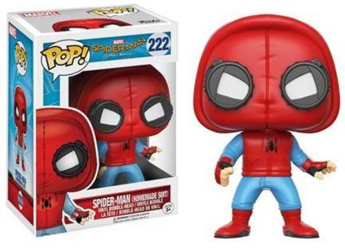 Funko 13315 - Marvel Spider-Man Homecoming, Pop Vinyl Action Figure 222 Spider-Man Homemade Suit