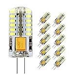 Ampoule LED G4, Jpodream 3W 48*3014 SMD Ampoules Économie D'énergie, 300 LM, 30W Ampoule Halogène...