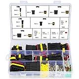 HSEAMALL Connettore impermeabile per cavi auto, connettore per terminali elettrici, 1/2/3/4/5/6 pin con fusibili per lama automotive, 240 pezzi