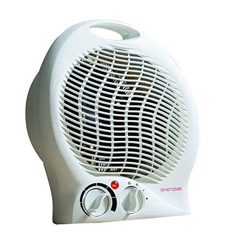 Daewoo 2000W Portable Fan Heater, White