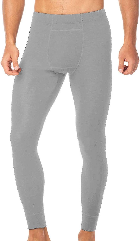 Casei Mens Quick Dry Compression Tights Underwear Pants Long Johns Bottoms Base Layer Performance Leggings Yoga Yoga