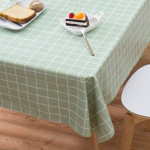 en relief design haut de gamme Nappe \ Toile ciree wjdhome Taille 140x200cm Vert Citron