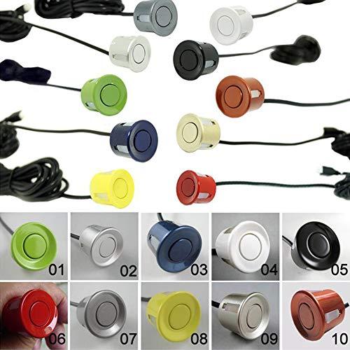 ETbotu - Juego de 4 sensores de Aparcamiento para Coche, 22 mm,...