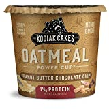 Kodiak Cakes Instant Protein Oatmeal Cup, Peanut Butter Chocolate Chip, 2.12 Ounce (Pack of 12)