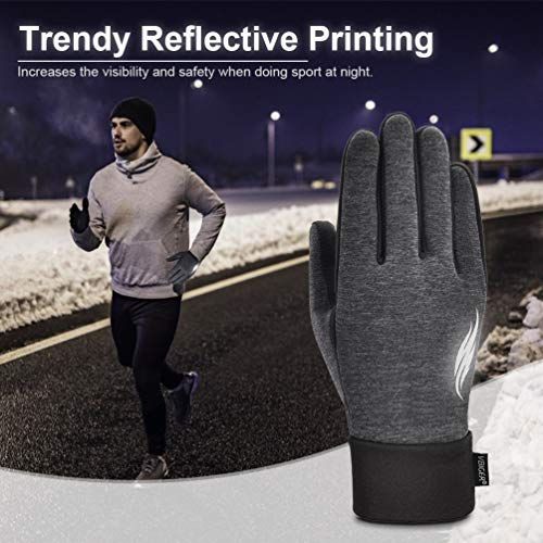 VBIGER Handschuhe Herren Winterhandschuhe Damen Winter Warme Fleece Innenfutter Touchscreen Handschuhe für Sport Outdoor Motorrad Laufen Radfahren Mountainbike… - 5