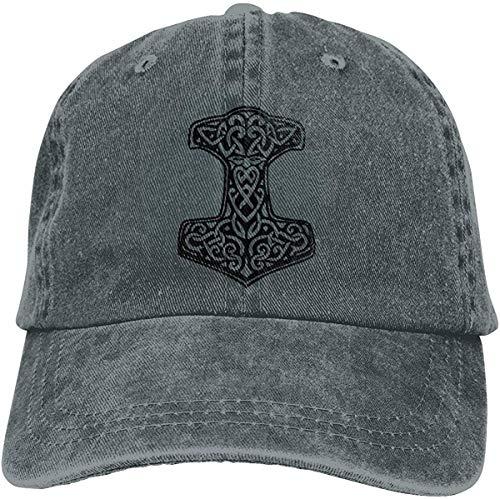 Aghdfssdhg Thor's Hammer Viking Norse Unisex Vintage Casquette Baseball Cap Adjustable Trucker Hat