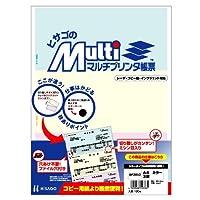 ヒサゴ マルチプリンタ帳票 A4カラー3面 (100枚) BP2012