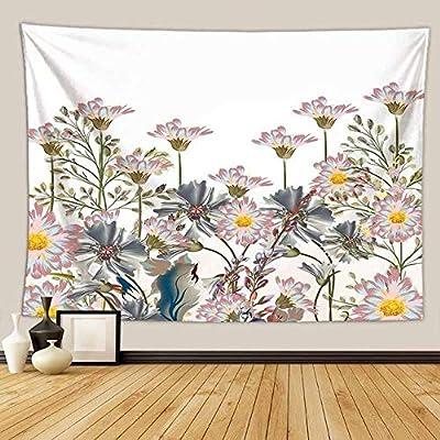 HJUK - Tapiz de flores con paisajes naturales, Color 13, 150x130cm