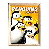 FANART369 Poster Pinguine von Madagaskar #4 A3 Größe
