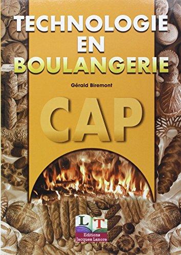Technologie en boulangerie, CAP 1ère et 2ème année, livre de lélève