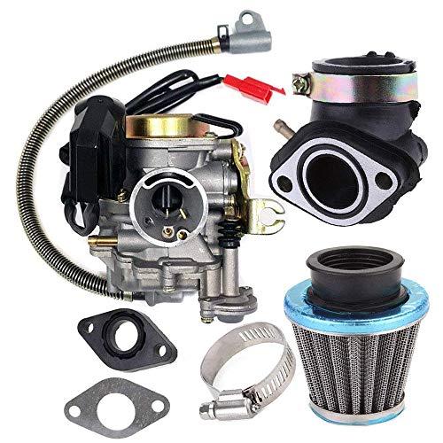professionnel comparateur Scooter 4 temps GY6 50CC 49CC, carburateur Taotao 18mm carburateur KKmoon adapté aux moteurs. choix
