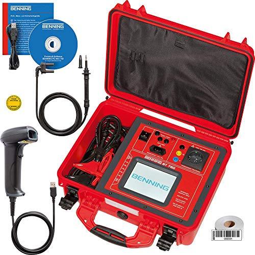 Benning Gerätetester ST 760 Set Set 760 Prüfgerät nach DIN VDE 0701 4014651503250