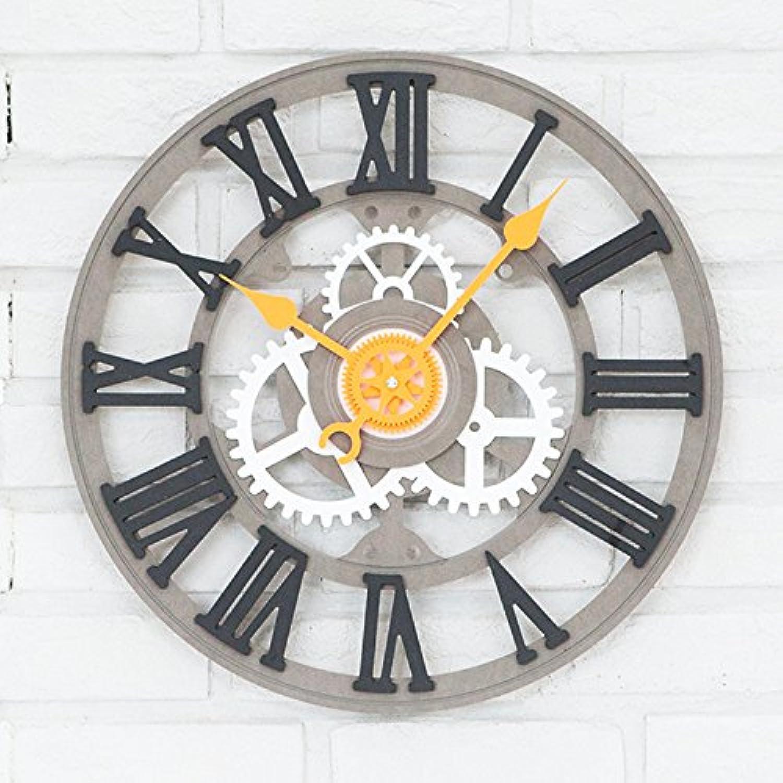 promociones emocionantes ZX zxyMesas Colgantes Reloj De La Sala De De De Estar Digital Romana Reloj gris  contador genuino