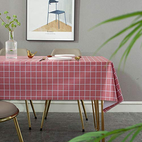 Mantel De Mesa De PVC De Estilo Moderno Y Simple, A Prueba De Aceite E Impermeable, Hermoso Y Moderno, Adecuado para La Mesa De Comedor Familiar del Hotel