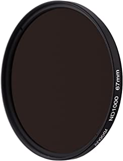 ND Fliter, GoolRC 67mm ND1000 10 Stop Fader Neutral Density Filter compatible with Nikon Canon DSLR Camera