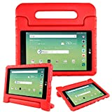 Bolete Case for LG GPad X 8.0, Kids Shock Proof Light Weight Protective Convertible Handle Stand Cover for LG G Pad X 8.0 T-Mobile V521 / AT&T V520 Tablet,Red