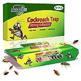 KafooStore - Lote de 10 cebos en polvo, trampas para cucarachas, insecticida profesional, no tóxico, repelente de insectos, latas
