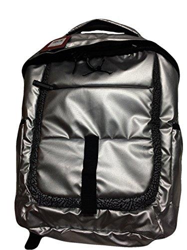 Nike Air Jordan Silver Laptop Backpack Bag for Men, Women and Boys